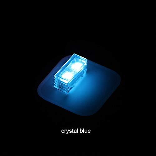 Car Lights Elt 1 Car Led Atmosphere Light W/Usb Socket Interior Decorative Lamp Emergency Lighting Universal For Pc Usb Plug & Play - (Emitting Color: Crystal Blue)