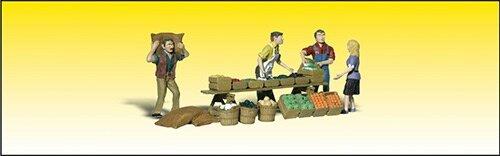 - Woodland Scenics O Farmers Market WOOA2750