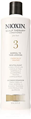 Nioxin Scalp Therapy Conditioner System 3 for Color Treated Hair with Light Thinning, 16.9 Ounce ()