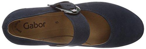 Gabor - Zapatos para mujer Azul (nightblue 16)