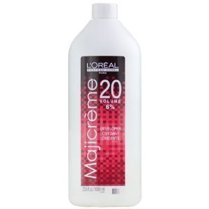 Loreal Maji Creme Developer Lotion 20 Volume 6% 33.8 oz (Level 20 Developer compare prices)