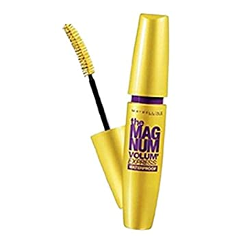 e062f38ce4c Amazon.com : Maybelline the Mag Num Volum Express Waterproof (Cat Eyes)  Black : Beauty