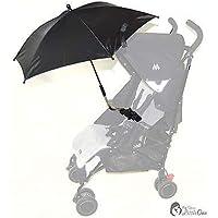 Bebé Sombrilla Compatible con Chicco Multivía Urban negro