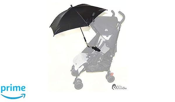 Bebé Sombrilla Compatible con Hauck Sprint velocidad Plus negro ...