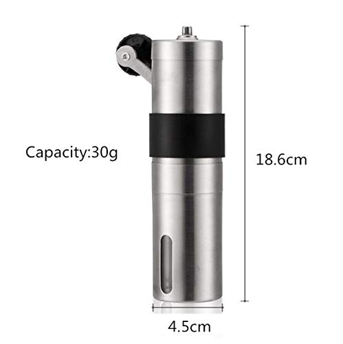 Manual Coffee Grinder 20/30G Washable Ceramic Core Home Kitchen Mini Hand Coffee Mill Household Tool Coffee Grinding Machine,L