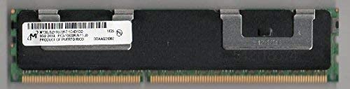 Micron MT36JSZF1G72PZ-1G4D1DD PC3-10600R DDR3 1333 8GB ECC REG 2RX4