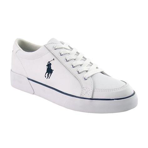 Ralph Lauren - Zapatillas para mujer blanco White/navy 42.5: Amazon.es: Zapatos y complementos