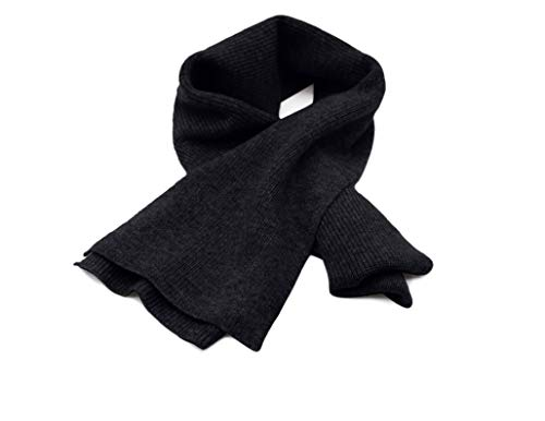 - State Cashmere Men's 100% Cashmere Solid Color Winter Wrap Scarf, Ultimate Soft and Cozy 70