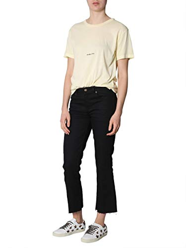 Saint Cotone Donna Giallo Laurent shirt T 548037ybdv27440 rAqUrFwf