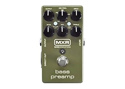 Jim Dunlop M81 Bass Preamp Pedal