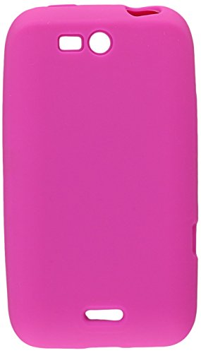 Reiko SLC10-LGLS840HPK Premium Durable Silicone Protective Case for LG Viper LG LTE (LS840) - 1 Pack - Retail Packaging - Hot Pink (Lg Viper Phone Cases)