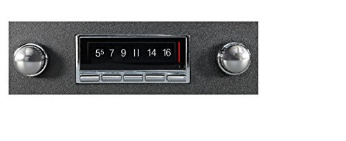 Custom Autosound Stereo compatible with 1973-1988 Chevrolet or GMC Pickup Truck, 300 watt USA-740 AM FM Car Radioo with built-in Bluetooth, AUX Inputs, Color Change LCD Digital Display