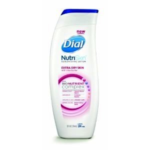 Dial 7 Day Moisturizing lotion Extra Dry Skin with Shea Butter and 7 Bionutrients 12 fl oz