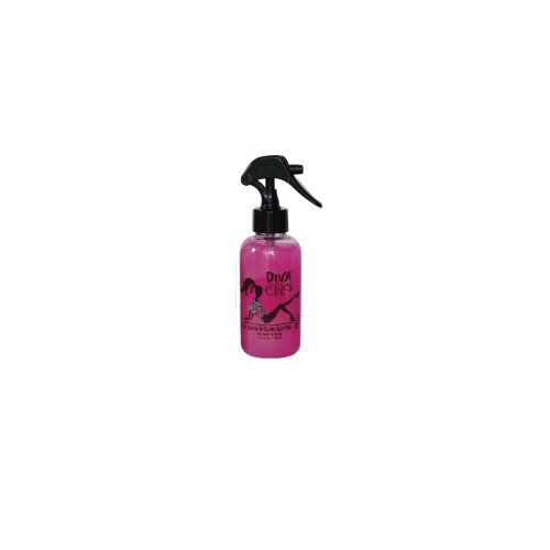 Diva Chics Be Glitzy Hair/Body Glitter, Pink, 5.2 Fluid Ounce