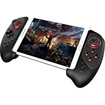 GEEKLIN Wireless Bluetooth Game Controller Gamepad for iPhone iPod iPad iOS System, Samsung Galaxy Note HTC LG Android Tablet PC (Transmission Manual Mfi)