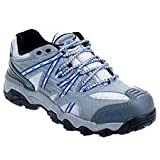 Dunham Women's Steel Toe DSW413GR Grey EH Trail Mix Work Shoes for Work Shoe Safety Combined with Casual Athletic Style. Womens US Size 9.5 D Wide