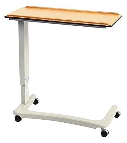 NRS Healthcare Easylift – Elevador Overbed/mesa auxiliar para silla (Madera de Haya n43565