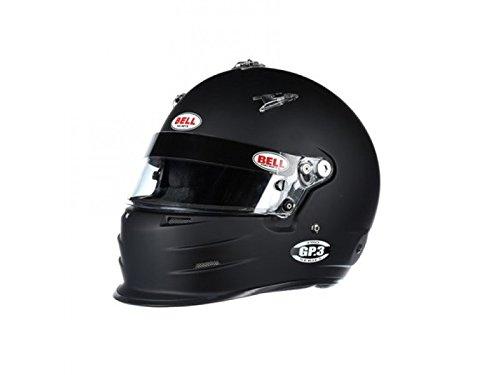 Bell Racing GP.3 MATTE BLACK 7 1/4 (58) SA2015/FIA8859 V.15 BRUS HELMET ()