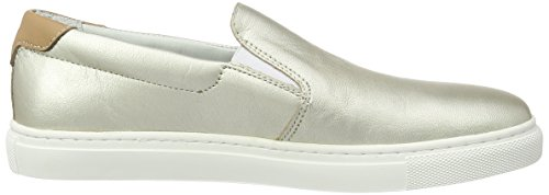 light Hilfiger Sneaker Low Women's Silver 15a2 Tommy top T1285ina 041 pf8wF