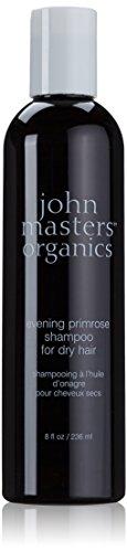 John Master Organics Shampoo for Dry Hair, Evening Primrose, 8 Fluid Ounce