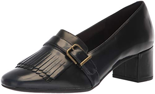Maye Tealia Navy Patent Women's Narrative Pump CLARKS gq7Ex6wnAx
