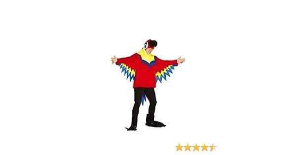 FIESTAS GUIRCA Disfraz papagallo Loro Hombre Mujer Talla l: Amazon ...