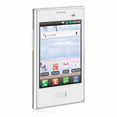 LG Optimus Logic in White (Net10) (Lg Optimus Logic Phones compare prices)