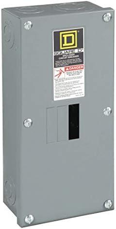 SCHNEIDER ELECTRIC Enclosure Qo Cir Brkr 240-Volt 100-Amp Nema 1 QO2100BNS Switch Fusible Hd 240V 60A 3P Nema12K