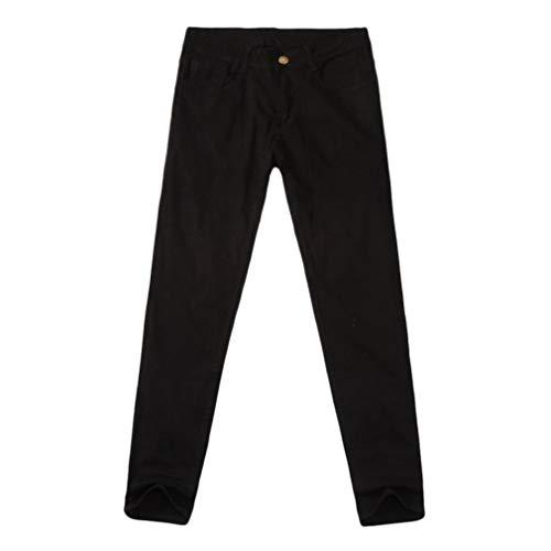 拒絶現象表現HZOTB パンツ メンズ カジュアル 秋 デニム コットン ジッパー フライ ストリング ワーク ジーンズパンツ