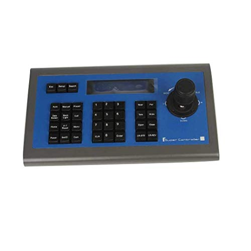 Cheap Efreecity Joystick Keyboard Controller PTZ Control Keyboard Support for Sony Video System Camera RS485 LCD Display