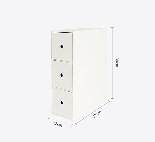 Racks.A ASL Office Desktop Bücherregal Schublade Typ Debris Kosmetik Finishing Rack Aufbewahrungsbox Storage Cabinet Qualität (Farbe   B)