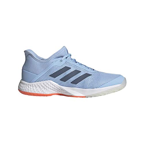 Adidas Racquets Tennis - adidas Women's Adizero Club Tennis Shoe Glow Blue/tech Ink/hi-res Coral 7 M US