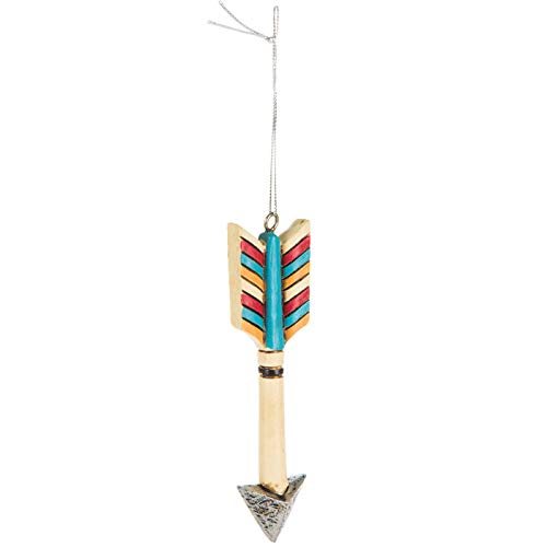 - Scout & Company Southwest Arrow Hanging Ornament   Native American Home Decor Gifts for Women or Men