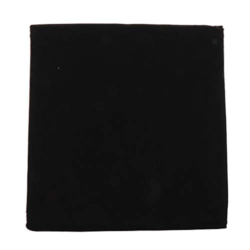 1 Piece Cotton Canvas Fabric DIY Craft Material for Handmade Bags Clothes | Color - Black