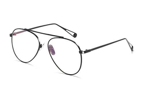 Progressive Lady Costume (Embryform Scholarly Contrasting Square Eye Glasses For Men)