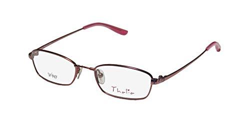 Thalia Cruz Childrens/Kids/Girls Designer Full-Rim Shape Spring Temples For Teens Eyeglasses/Glasses (45-16-130, ()