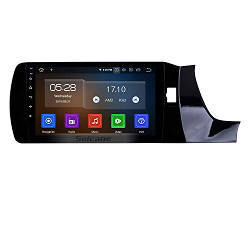 9 Inch Car Setreo Android 9.0 Car Multimedia System for Honda Amaze 2018-2019 RHD with WiFi Bluetooth Music USB (4-Core, 2G+16G) (Best Chinese Double Din Head Unit 2019)