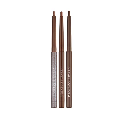 Physicians Formula Eye Booster Gel Eyeliner Trio, Brown, 0.04 Ounce