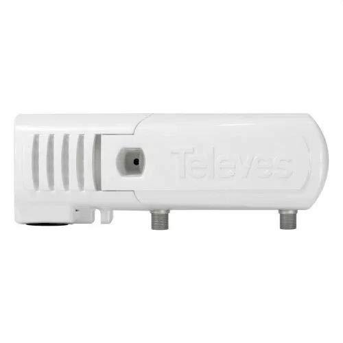 Televes 553501 - Amplificador vivienda 1s f 5.30/47 862mhz g-2/34db