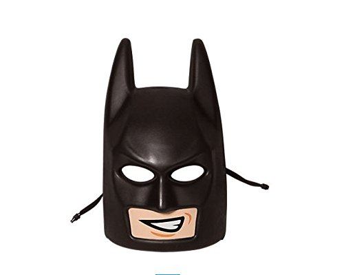 Batman Lego Head Costume (THE LEGO BATMAN MOVIE BATMAN MASK COSTUME 853642)
