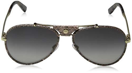 Roberto Cavalli RC1042 Cerreto Sunglasses 59 28C Shiny Rose Gold Smoke Mirror