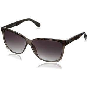 Kenneth Cole REACTION Women's KC2727 Wayfarer Sunglasses,Grey,60 mm