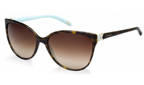 Tiffany TF4089B 8134-3B Tortoise TF4089B Cats Eyes Sunglasses Lens Category 3 S (Sunglasses Tiffany)