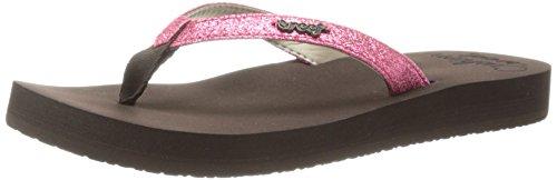 Reef Star Cushion - Sandalias de vestir para mujer Marrón (Brown/Hot Pink)