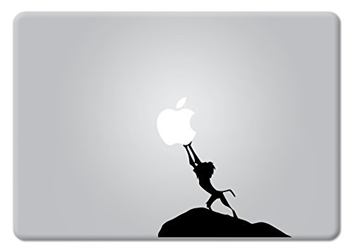 Lion King Rafiki Hakuna Matata Macbook Decal Vinyl Sticker Apple Mac Air Pro Retina Laptop sticker