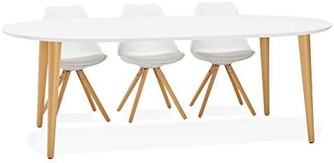 Alterego – Mesa de comedor redonda extensible Iglou de estilo ...