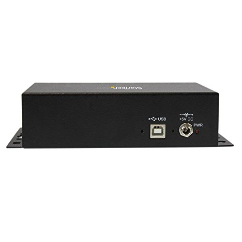 StarTech.com USB to Serial Adapter Hub – 8 Port – Industrial – Wall Mount – Din Rail – COM Port Retention – FTDI USB to RS232 by StarTech (Image #2)