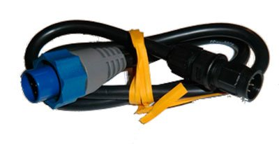 Lowrance Adapter Cable, 7 pin Blue to 6 pin: for Connecting a transducer with a Blue 7 Pin Connector to The Older Northstar/Navman Display