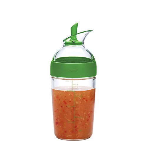 OXO Good Grips Little Salad Dressing Shaker, Green ()