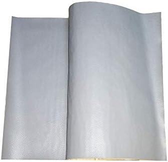 cuero adhesivo para tapizar Papel Pared Adhesivo Impermeable Pegatina de Cuero Artificial PU Cuero marr/ón